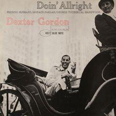 BLUE NOTE BLP 4077   Doin' Allright/Dexter Gordon