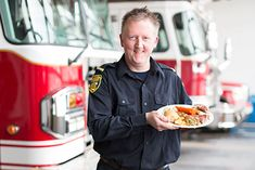 For this fire lieutenant from St. John's, N., Sundays just wouldn't be complete without a traditional Jiggs dinner. Canadian Food, Canadian Recipes, Jiggs Dinner, Newfoundland Recipes, The Duff, Christmas Baking, Food Network Recipes, Family Meals, Bread Recipes