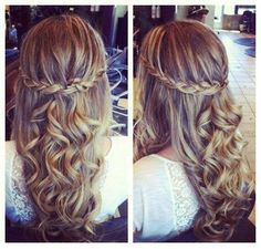 5 Hairstyles for Holiday with 20 inch Hair Extensions -