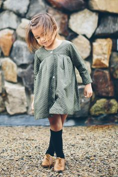 Evergreen Coat Dress // Duchess & Lion Co.