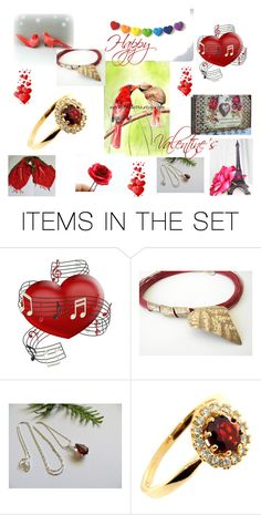 """""""Happy Valentine's."""" by stavrosdragatakis ❤ liked on Polyvore featuring art and dragatakisjewelry"""
