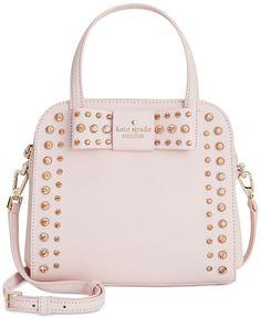 kate spade new york Small Merriam Handbag - Handbags & Accessories - Macy's Pink Handbags, Kate Spade Handbags, Kate Spade Purse, Ladies Handbags, Fashion Bags, Tokyo Fashion, Milan Fashion, Runway Fashion, Fashion Dresses