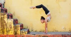 Here at MBG we love  yoga  and we love going upside down! We know how difficult it can be to invert.