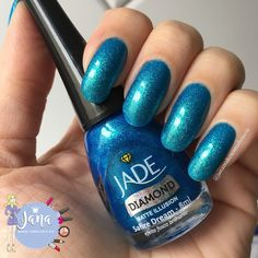 Jana Makes Esmaltes e Cia : Esmalte da Vez: Safire Dream - Jade