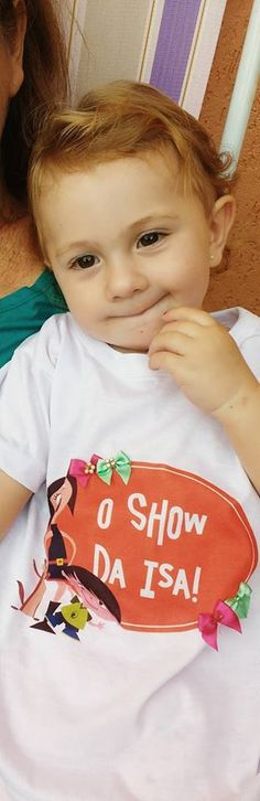 "Camiseta ""O Show da Isa"" - Tema ""O Show da Luna"""