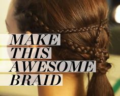 How to Create a Game of Thrones-Worthy Braided Pony - with video tutorial!