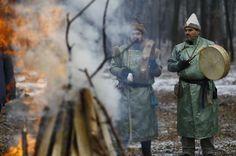 Szertartásos tűzgyújtás a téli napfordulón (December 21.)