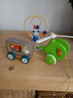 Brio et Moulin Roty Le Moulin, Wooden Toys, Vintage, Car, Toy, Wooden Toy Plans, Wood Toys, Automobile, Woodworking Toys