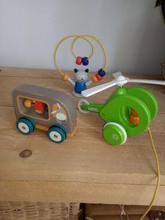 Brio et Moulin Roty Le Moulin, Wooden Toys, Vintage, Car, Toy, Wood Toys, Automobile, Vehicles, Vintage Comics