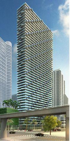 Residential tower - Arquitectonica - Miami, Florida