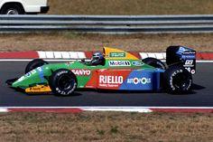 1990 GP Węgier (Hungaroring) Benetton B190 - Ford (Alessandro Nannini)