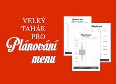 Slavnostní menu – plánování a příprava – Kuchařka pro dceru