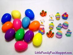Little Family Fun: Easter Egg Memory