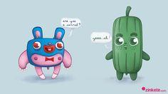 el conejo con pajarita y su amigo el inigualable mister cucumber