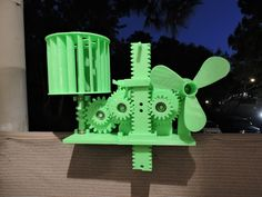 Wind Energy Stored In Gravity by hyperplanemike - Thingiverse