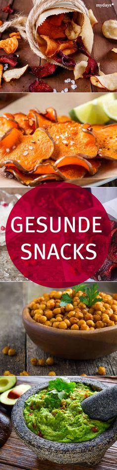 Gesunde Snacks für einen gemütlichen Abend zu zweit - Von Gemüsechips über Kichererbsen bin hin zu selbstkreierten Dips. Im mydays Magazin verraten wir Dir leckere und gesunde Snacks, die sich perfekt als Alternative zu den herkömmlichen Chips eignen. GESUNDHEIT | inspirationen