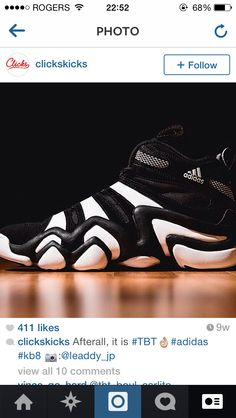buy online 01bb6 7871b adidas Crazy 8 Black The adidas Crazy 8 is now back in its original  blackwhite colorway.