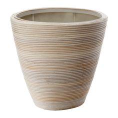 IKEA - PEKANNÖT, Ruukku, Muovisen sisäruukun ansiosta ruukku on vedenkestävä.