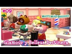 Animal Crossing Happy Home Designer #09 - Glamour y Belleza Destino