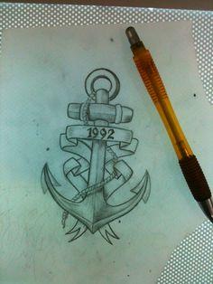 #tattoo #ancora #anchor