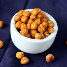 Roasted Garam masala chickpeas.