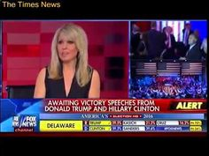 Awaiting Victory Speechs From Donald Trump & Hillary Clinton - America's Election HQ