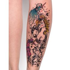 Tattoo @robcarvalhoart -   Unicórnio   Unicorn