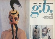 Direction Judy Blame, Photography Mark Lebon. [The New Look Issue, No. 121, October 1993]