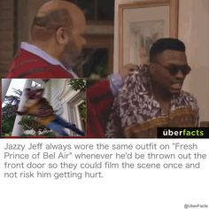 Prince Of Bel Air, Fresh Prince, Uber Facts, Weird Facts, It Hurts, Knowledge, Scene, Cool Stuff, Fun Things