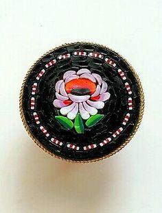 Glass Micro Mosaic Craft Tile Rose Petal