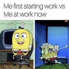 If you have spent any time working in a call center you should be able to read these Work Memes call center.We hope you enjoy these Work Memes call center Spongebob Tumblr, Funny Spongebob Memes, Funny Animal Memes, Funny Jokes, Hilarious, Funny Texts, College Memes, School Memes, Work Memes