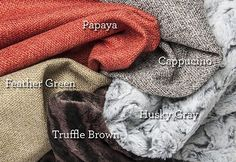 Got dog hair & eye boogers? Protect your furniture in style with P.L.A.Y.'s Luxe Throws