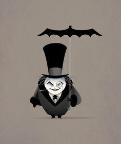 Bat guarda chuva!