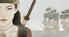"""Ching Shih was born in the Guangdong province of China in 1775. She became a prostitute who worked in a floating brothel in Canton. In 1801, Pirate Zhèng Yi, who commanded a fleet of ships called the """"Red Flag Fleet,"""" noticed Ching Shih's beauty and took her as his wife."""