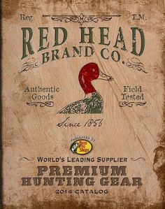 Redhead hunting on line catalog