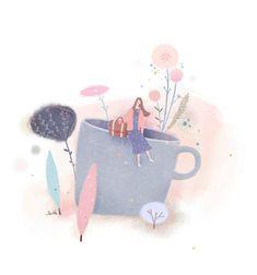 51번째 이미지 Family Illustration, People Illustration, Graphic Illustration, Deep Art, Chinese Art, Cute Drawings, Cute Wallpapers, Cute Art, Art Girl