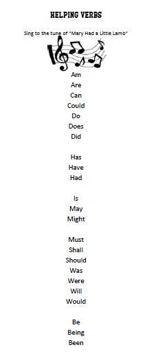 helping verbs help