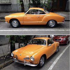 Orange Karmann Ghia
