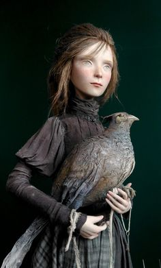 Анна Зуева. Tina and Bird