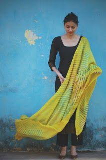 New Pakistani Simple Dress Salwar Kameez Designs Indian Suits, Indian Attire, Indian Dresses, Indian Wear, Pakistani Dresses, Indian Ethnic, Indian Style, Indian Designer Wear, Mode Style