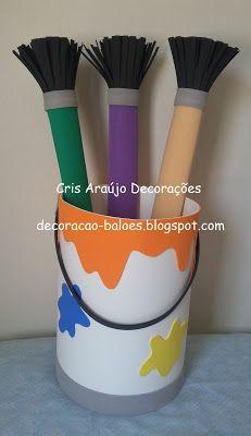 School Age Activities, Craft Activities, Preschool Crafts, Crafts For Kids, Artist Birthday, Birthday Painting, Fun Party Themes, Birthday Party Themes, Art Classroom Rules