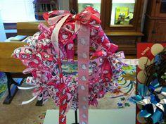 """Hello Kitty"" Wreath created by Susan Ausman"