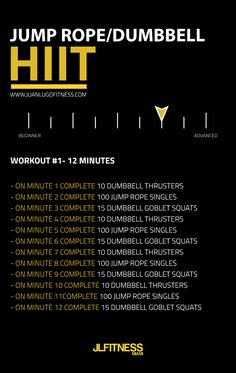 It is recommended to perform HIIT 2 to three times a week. The key is to provide. - It is recommended to perform HIIT 2 to three times a week. The key is to provide your body a one da - Circuit Kettlebell, Kettlebell Challenge, Jump Rope Challenge, Tabata, Kettlebell Deadlift, Workout Challenge, Wods Crossfit, Crossfit Women Workout, Spartan Workout