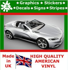 Car Racing Stripes Sticker Art Set Vinyl Graphic Decal Auto Rally JDM 10 Peugeot