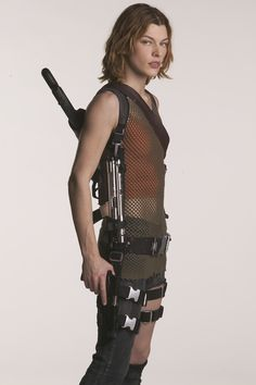 "Alice, from the ""Resident Evil""-series."