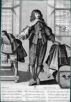 Abraham Bosse  Un laquais range des habits dans une malle