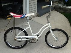 1976 HUFFY STAR SPANGLER BANANA SEAT BICYCLE VINTAGE MUSCLE BIKE evel knievel