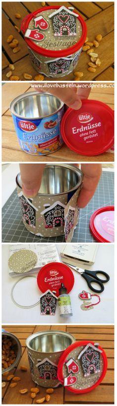 Stampin Up - Candy cane lane / Zuckerstangenzauber | Pinned from… Auch für ein kleines Geschenk, oder Plätzchen geeignet.
