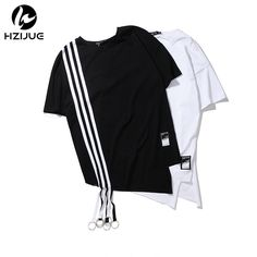 >> Click to Buy << HZIJUE hip hop MEN'S top T shirts Fashion design long hem kanye hip hop street wear casual High quality cotton male t shirts #Affiliate