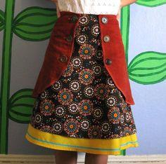 three layer skirt